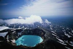 Gorely volcano, Kamchatka Peninsula, Russia