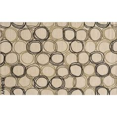 """""""Elements"""" Collection Momeni 5' x 8' Ivory Area Rug - design is great, prefer brighter colors."""