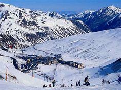 Andorra: A nice little ski village in Europe in between Spain and France.