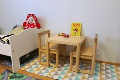 Retro kid´s furniture
