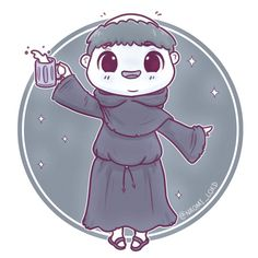 The fat friar Harry Potter Kawaii, Harry Potter Cartoon, Cute Harry Potter, Harry Potter Drawings, Harry Potter Tumblr, Harry Potter Birthday, Harry Potter Characters, Harry James Potter, Saga Harry Potter