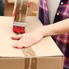 Dagens trycksak: Packtejp med eget tryck. Från 72 rullar perfekt för e-handlare.