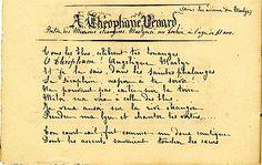"""'A Théophane Vénard' Thérèse offre ce poème à son saint très aimé le jour anniversaire de sa mort - 2 février 1897 / Thánh nữ Têrêxa Hài Đồng Giêsu """""""