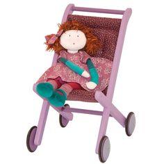 Buggy paars van Moulin Roty   Speelgoed Kiki