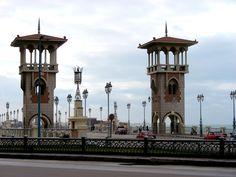 San Stefano Bridge Alexandria Egypt