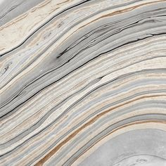 Beautiful golds and greys swirl on this Marble Fine Paper