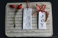 Christmas crafting: easy clay decorations « Decorator's Notebook blog