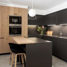 Kitchen Room Design, Modern Kitchen Design, Interior Design Kitchen, Made To Measure Furniture, Modern Kitchen Furniture, Plywood Kitchen, Neutral Kitchen, Industrial House, Living Spaces