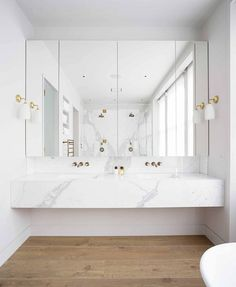 modern bathroom countertops a floating marble vanity top gives a feeling of luxu… – Marble Bathroom Dreams Bad Inspiration, Bathroom Inspiration, Interior Design Inspiration, Design Ideas, Bathroom Inspo, Furniture Inspiration, Interior Ideas, Marble Vanity Tops, White Vanity
