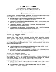 Investment Banking Analyst Resume Pleasing Resume Examples Retail  Resume Examples  Pinterest  Resume .