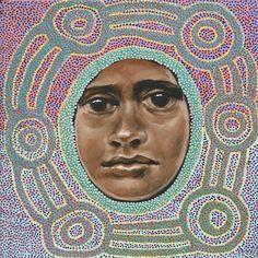 Sabia (sweet) by Julie Dowling Australian Painting, Australian Artists, Nalini Malani, Pegge Hopper, Amrita Sher Gil, Hung Liu, Assessment, Identity, Feminine