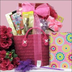 Egg-streme Glamour Girl: Easter Gift Basket for Girls