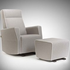 Moderno Fogo Glider in Choice of Finish and Fabric $1,038 #glider