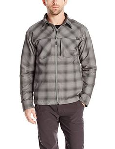 Outdoor Research Mens Winter Bullwheel Jacket PewterBlack Medium * Click on the image for additional details.