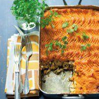Parmentier de poulet aux herbes et potimarron à la crème - Marie Claire Idées