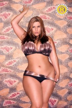 London Andrews. She is fantastic! Plus Size