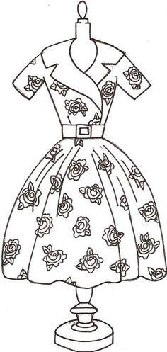 The Rose Dress Pattern