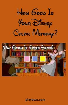 Sure, you can remember all your favourite Disney films, but can you picture them?