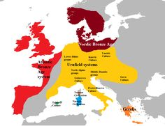 Most European men descend from a handful of Bronze Age forefathers
