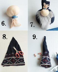Norwegian Nisse Christmas Gnome Doll