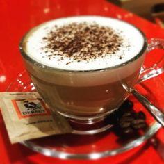 """""""#dersut #dersutcaffè  #cappuccino #cacao #love ❤☕"""""""