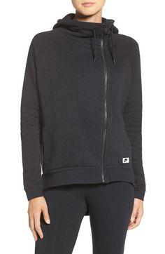 Nike 'Modern' Cotton Blend Hoodie