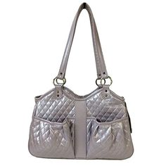 Petote Quilted Luxe Metro Pet Carrier Lilac - Large -- Check out this great product.