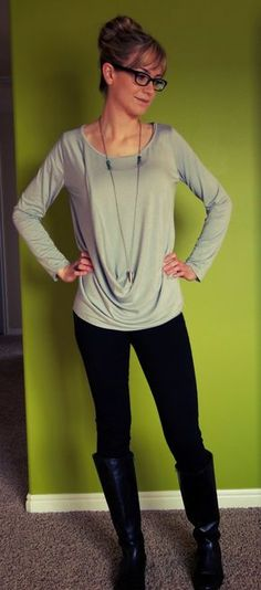 Comfy top sewing pattern by hot patterns http://www.hotpatterns.com/hp-1130-weekender-triple-torque-knit-tops/ HAVE