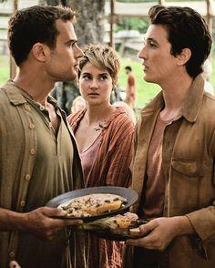 Tris, Tobias, Peter