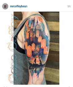 Disney Tangled tattoo by Gene Coffey