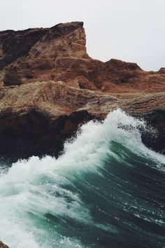 Crashing waves