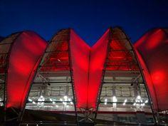 Membranas - vermelho e branco - Gigante em Porto Alegre