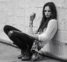black and white portraits girls - Google Search