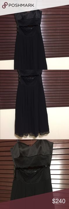 2 pieces dress 2 pieces Marciano black outfit very elegant size M Marciano Dresses Midi