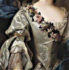 Marie-Anne of Bourbon by Pierre Gobert