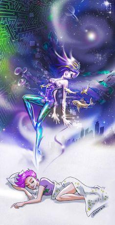 Runaway to Astral by Zoratrix.deviantart.com on @deviantART