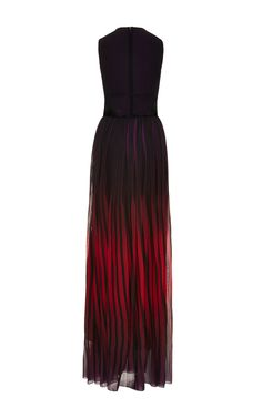 Knit Gown With Degrade Georgette Skirt by Elie Saab for Preorder on Moda Operandi