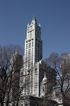 Ah, the Woolworth Building. A piece of iconic Manhattan real estate well-worth the hefty price tag.