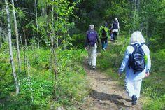 Vandring Roslagsleden- Hiking on Roslags Trail