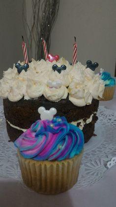 Torta mickey en crema