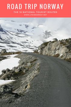 Road Trip Norway: Plan your dream driving vacation in Norway with this guide to the 18 National Tourist Routes
