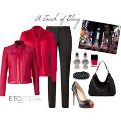 """""""Etcetera: A touch of bling."""" by etcetera-nyc on Polyvore"""
