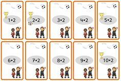 Wendekarten mit Fußballmotiven Die Fußball-EM naht und Agleh hatte die Idee, passend dazu Wendekarten zu allen Einmaleinsreihen anzuferti...