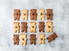 Biscuits, Gingerbread Cookies, Desserts, Food, Parchment Paper Baking, Fresh Egg, Kitchen Workshop, Bear Cubs, Christmas