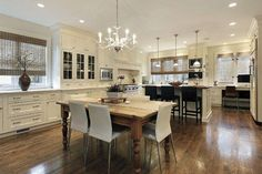 12+ Best Antique White Kitchen Cabinets in Trending Design Ideas for Your Kitchen #whitekitchen