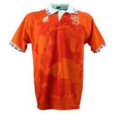 1996 Netherlands Retro Home Orange Soccer Jerseys Shirt Euro 1996, Vintage Football Shirts, Team Uniforms, Football Kits, Cheap Shirts, Shirt Sale, Retro Home, Jersey Shorts, New York Yankees