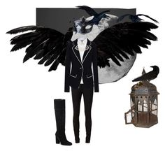 """Harpies"" by trashmadame ❤ liked on Polyvore featuring All Day, rag & bone/JEAN, Elizabeth and James, Marc Fisher LTD, ibride, harpies and thecastleinthewoods"
