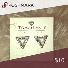 🌟🌟BRAVO EARRINGS by Traci Lynn🌟🌟 Beautiful never worn Tracy Lynn BRAVO Earrings. These earrings are fit for royalty. Matching Choker sold separately (see ad). Be the Queen you are today & every day. Never worn. Excellent condition. Special Bundle if you purchase the two. Traci Lynn Jewelry Earrings