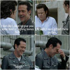 "The Walking Dead S07 E11 ""Hostiles and Calamities."" Season 7 Episode 11."