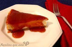 Cheesecake com ricota